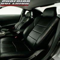 ブラックカーボンルックシートカバー フェアレディZ Z33