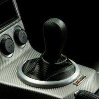 カーボンルックシフトブーツ フェアレディZ Z33