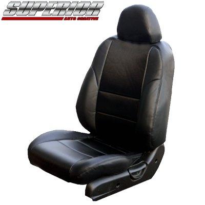 画像1: ブラックカーボンルックシートカバー シルビア S15