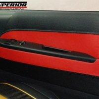 CX SUPERIOR バイカラー ドアレザーパネル ハイエース200