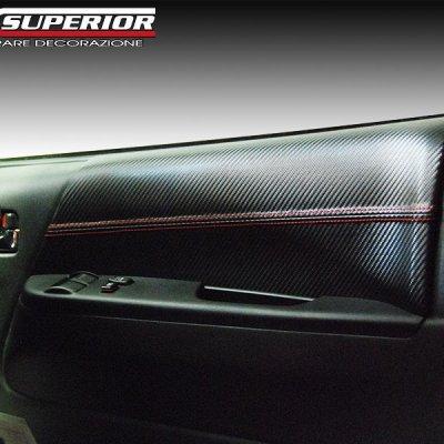 画像2: CX SUPERIOR ドアレザーパネル レジアスエース200 フロントドアセット