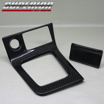 画像2: SUPERIOR カーボンシフトパネル スカイライン R33