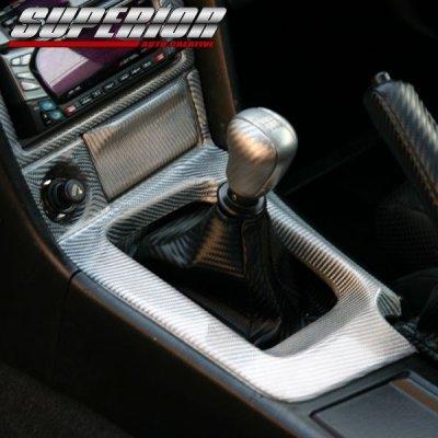 画像2: SUPERIOR カーボンシフトパネル スカイライン GT-R BNR34