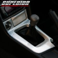 SUPERIOR カーボンシフトパネル スカイライン GT-R BNR34