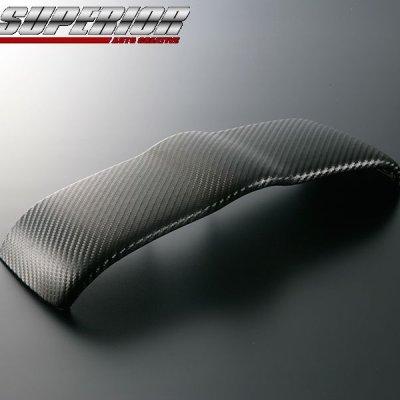 画像1: SUPERIOR カーボンメーターアッパーフードパネル フェアレディZ Z33