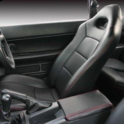 画像1: パーフォレイトバージョン シートカバー シルビア S14