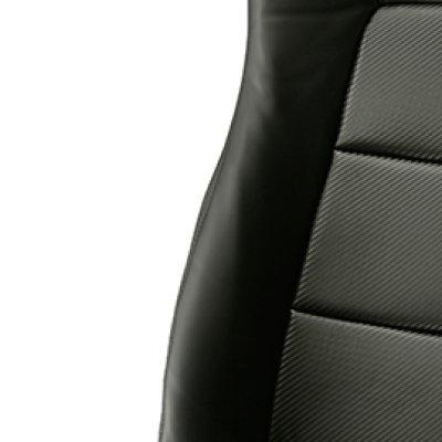 画像5: ブラックカーボンルックシートカバー BRZ ZC6