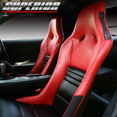 画像1: ブラックカーボンルックシートカバー RX-7 FD3S RZ 純正RECARO