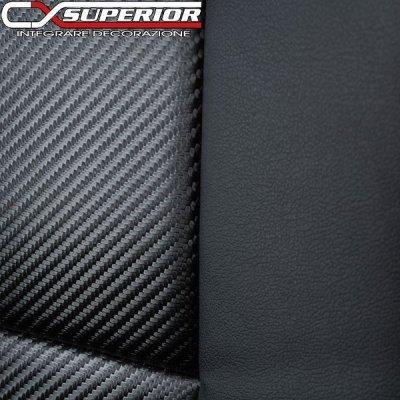 画像2: アルファードハイブリッド 20系 CX SUPERIOR カーボンルックシートカバー